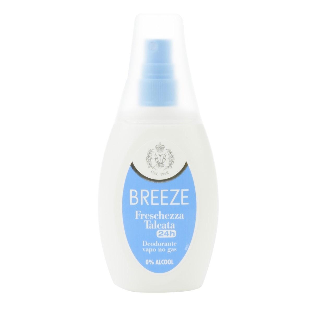 Breeze Deodorante vapo Freschezza Talcata 24h