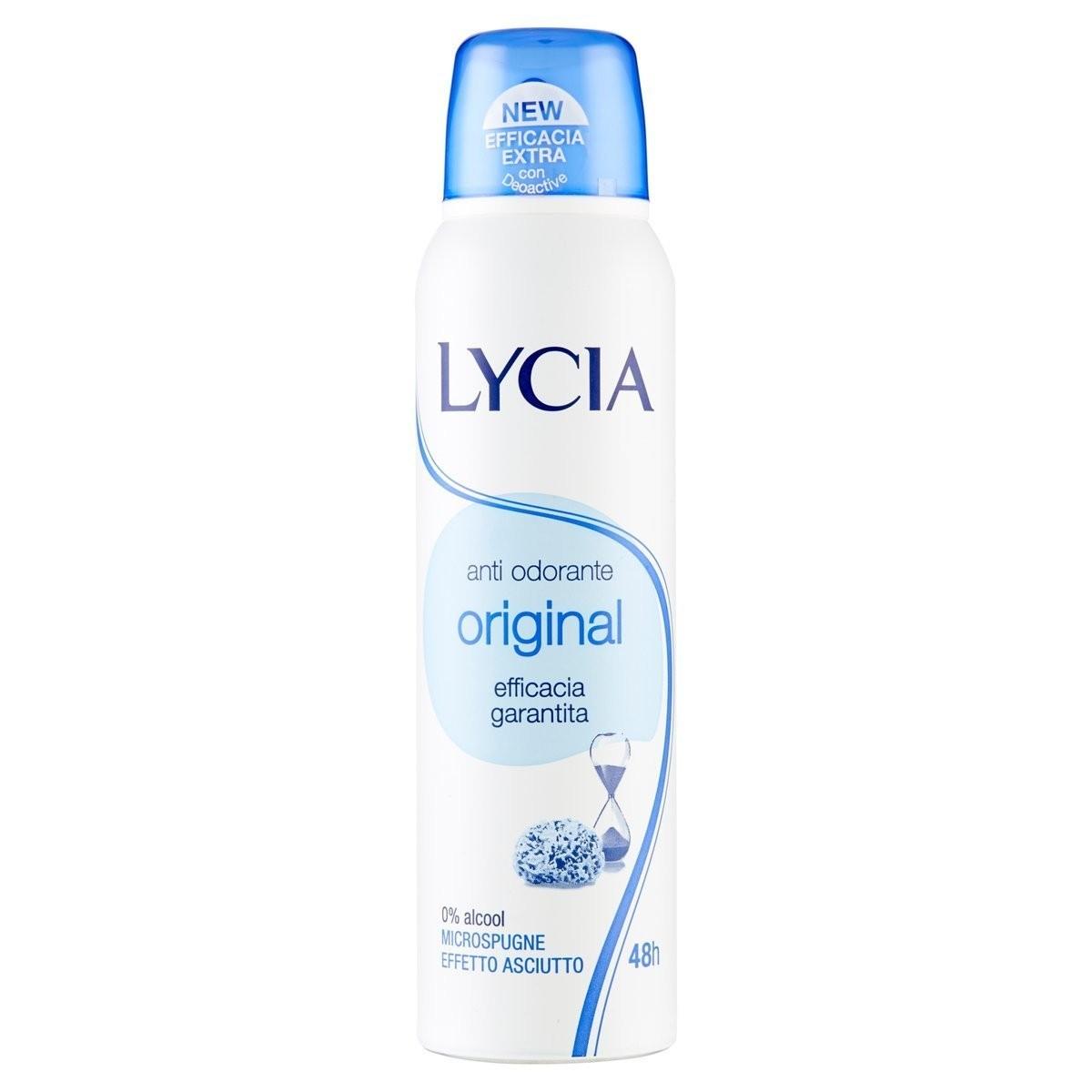 Lycia Deodorante spray Original