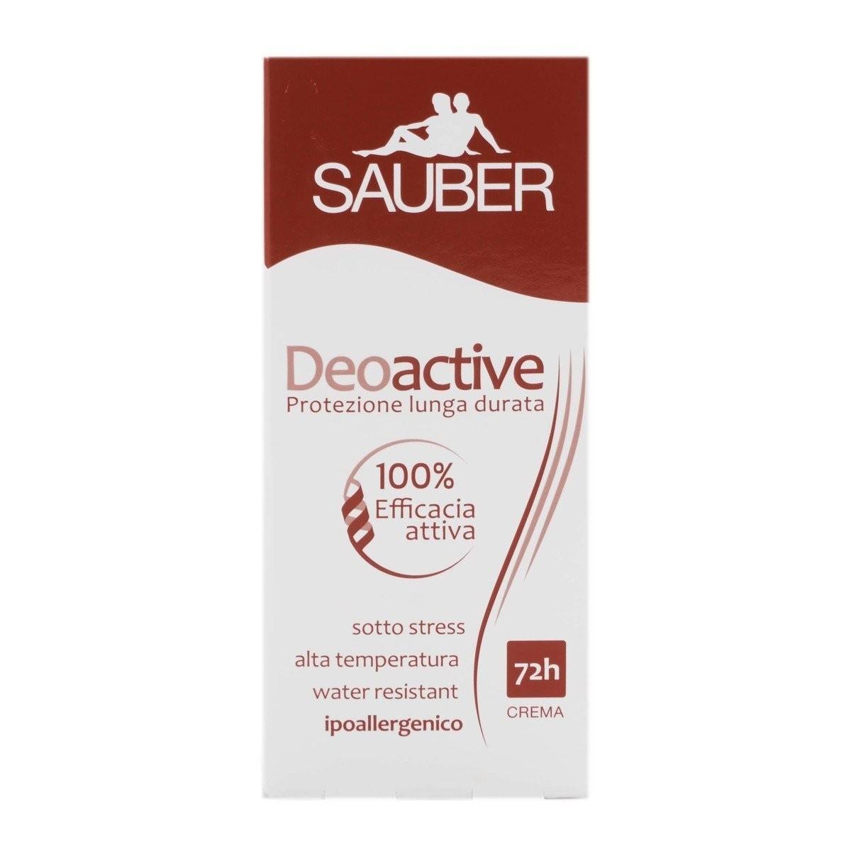 Sauber Deodorante in crema Deoactive
