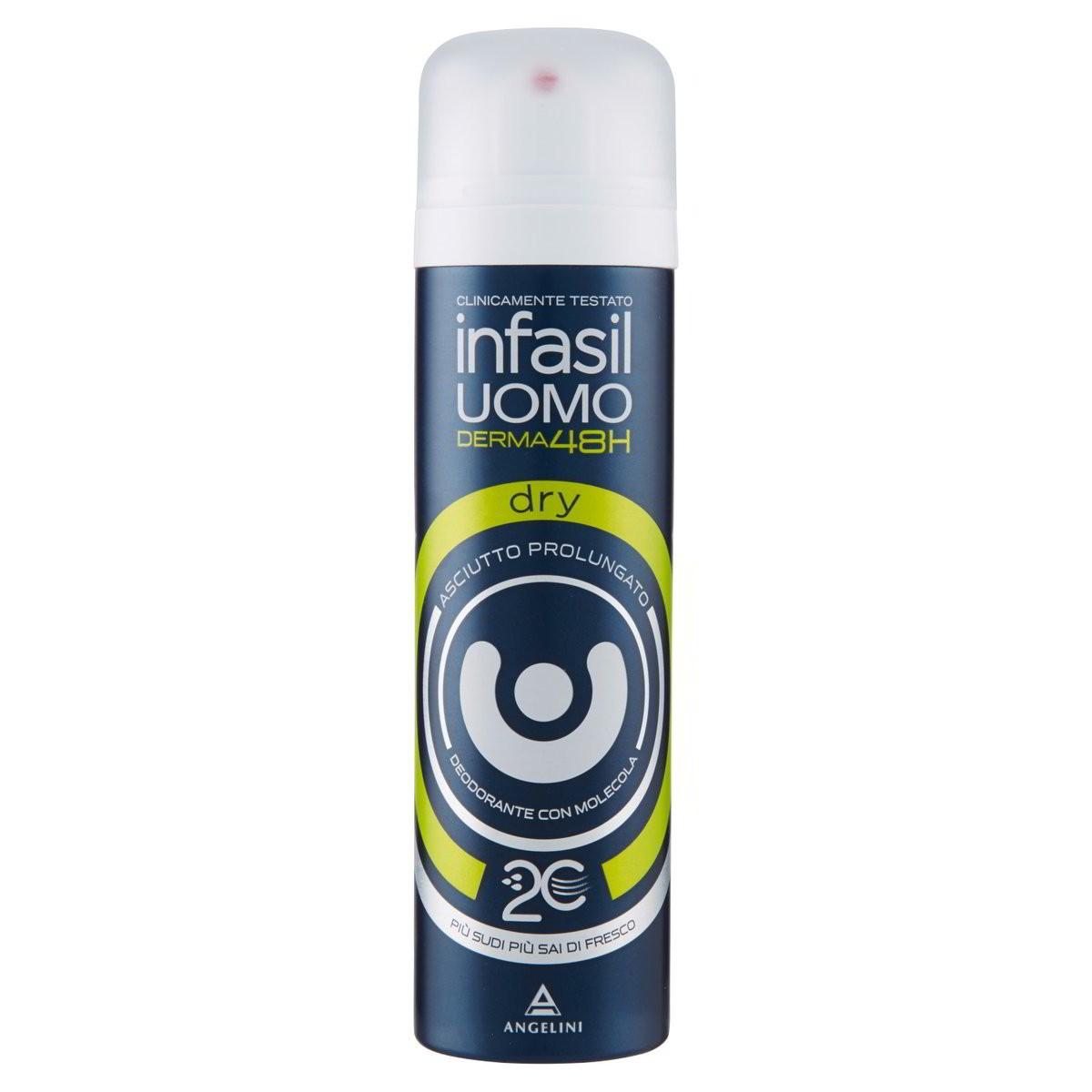 Infasil Uomo Deodorante spray Derma48H