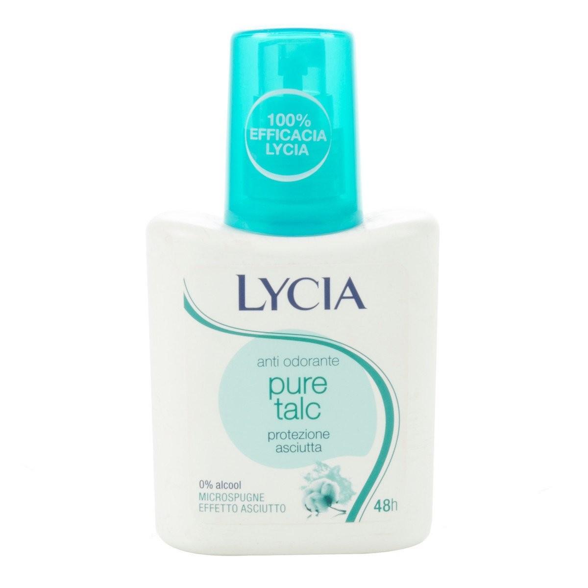 Lycia Deodorante vapo Pure Talc