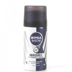 Nivea Men Deodorante Invisible Black & White