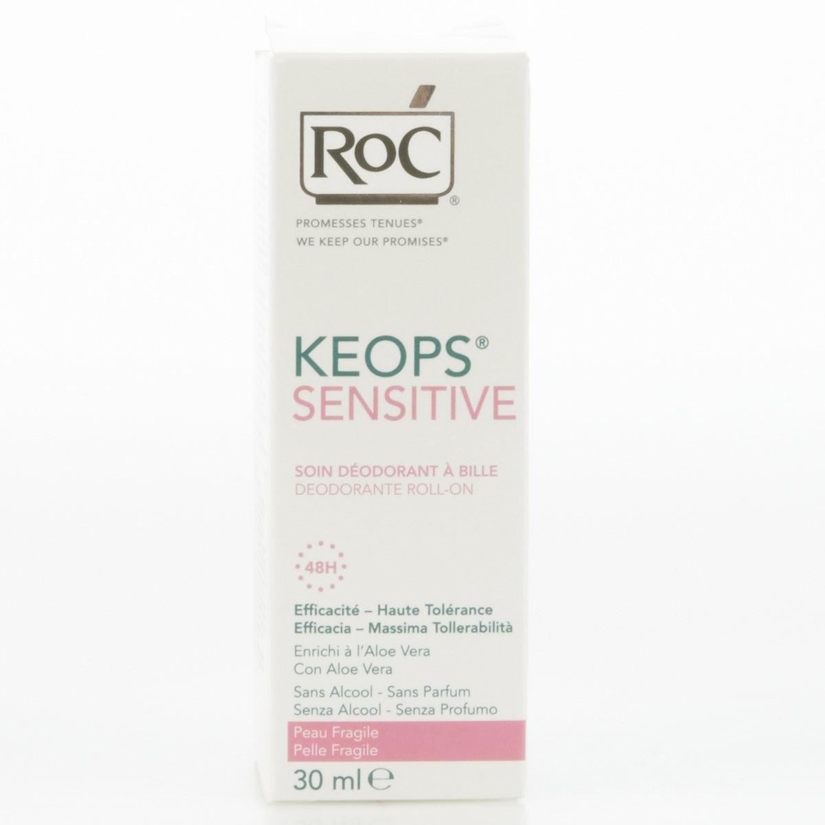 Rock Deodorante roll on Keops Sensitive