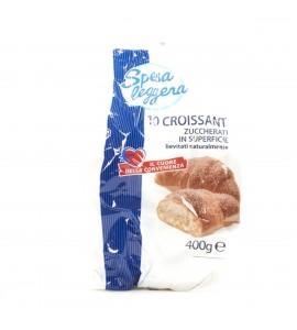 Croissant zuccherati in superficie