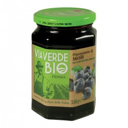 Confettura di mirtilli Via Verde Bio