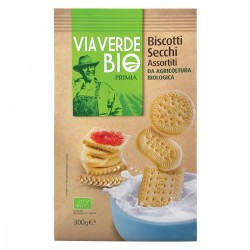 Biscotti secchi assortiti Via Verde Bio