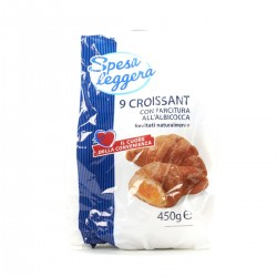 Croissant con farcitura all'albicocca