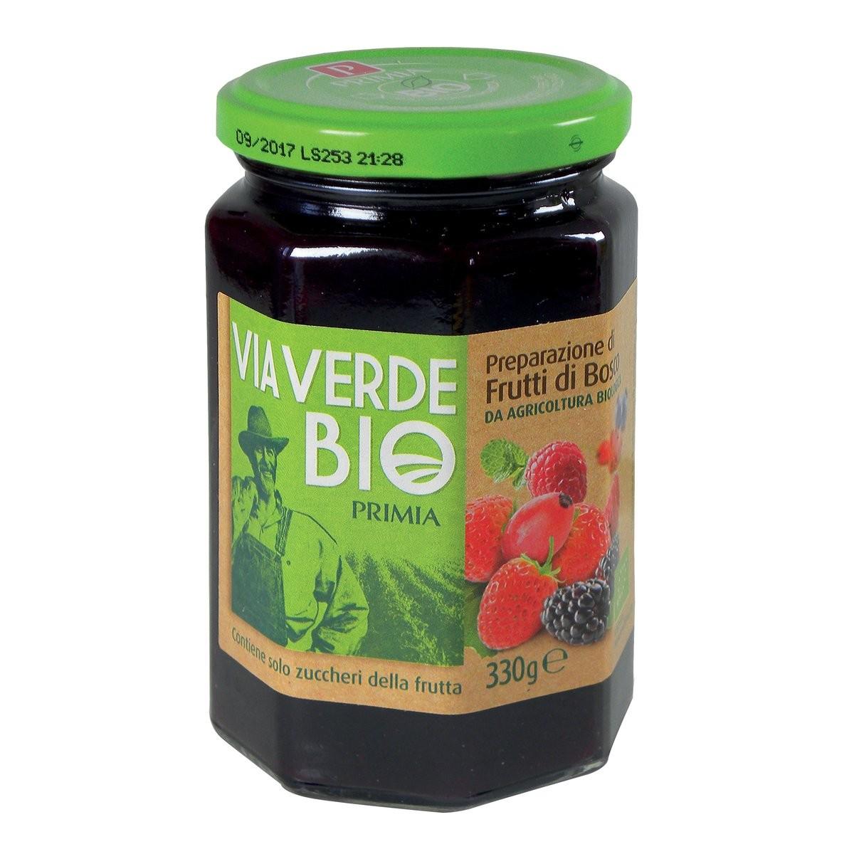 Confettura di frutti di bosco Via Verde Bio