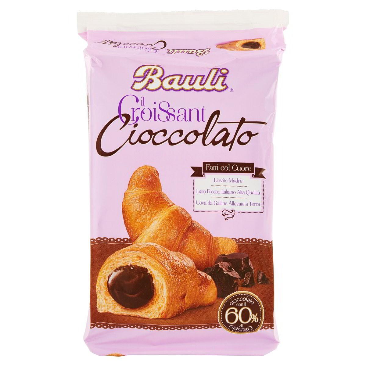 Croissant al cioccolato