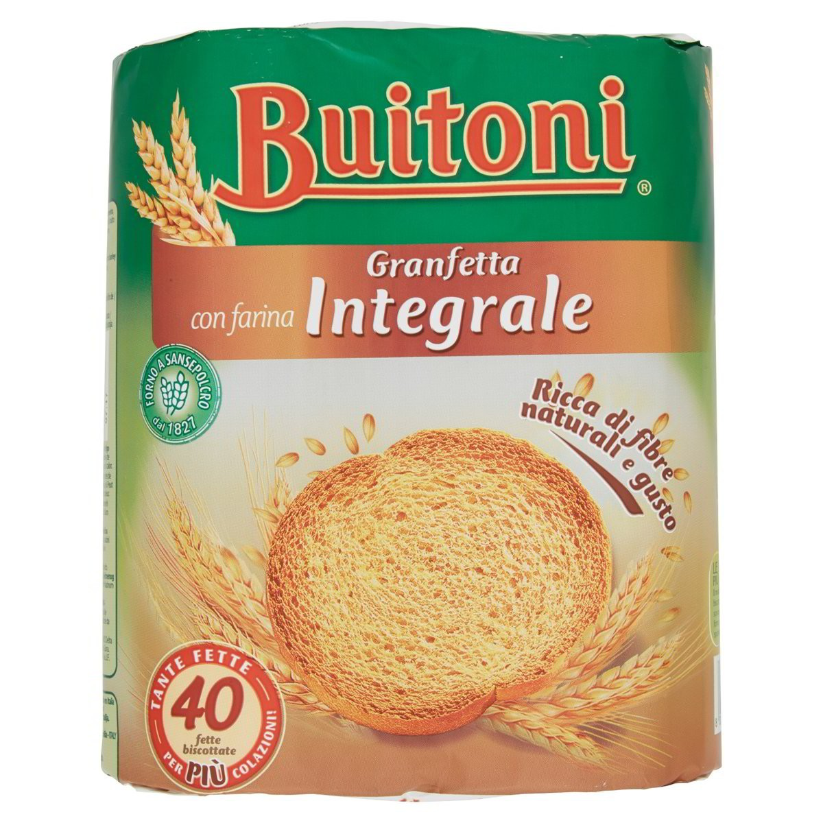 Fette biscottate Granfetta Integrali