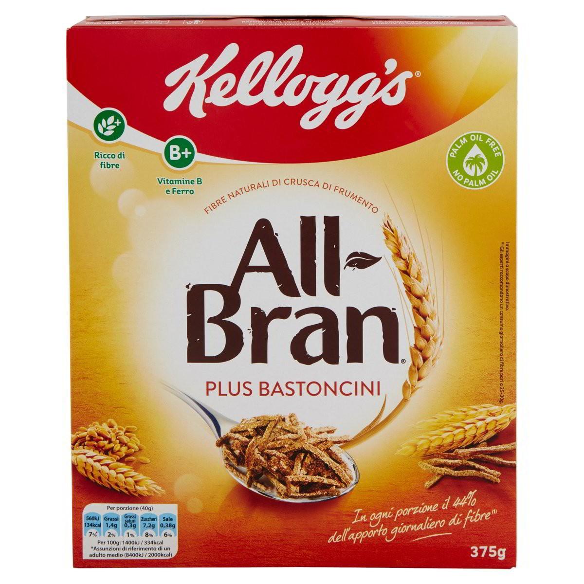 All Bran Plus Bastoncini