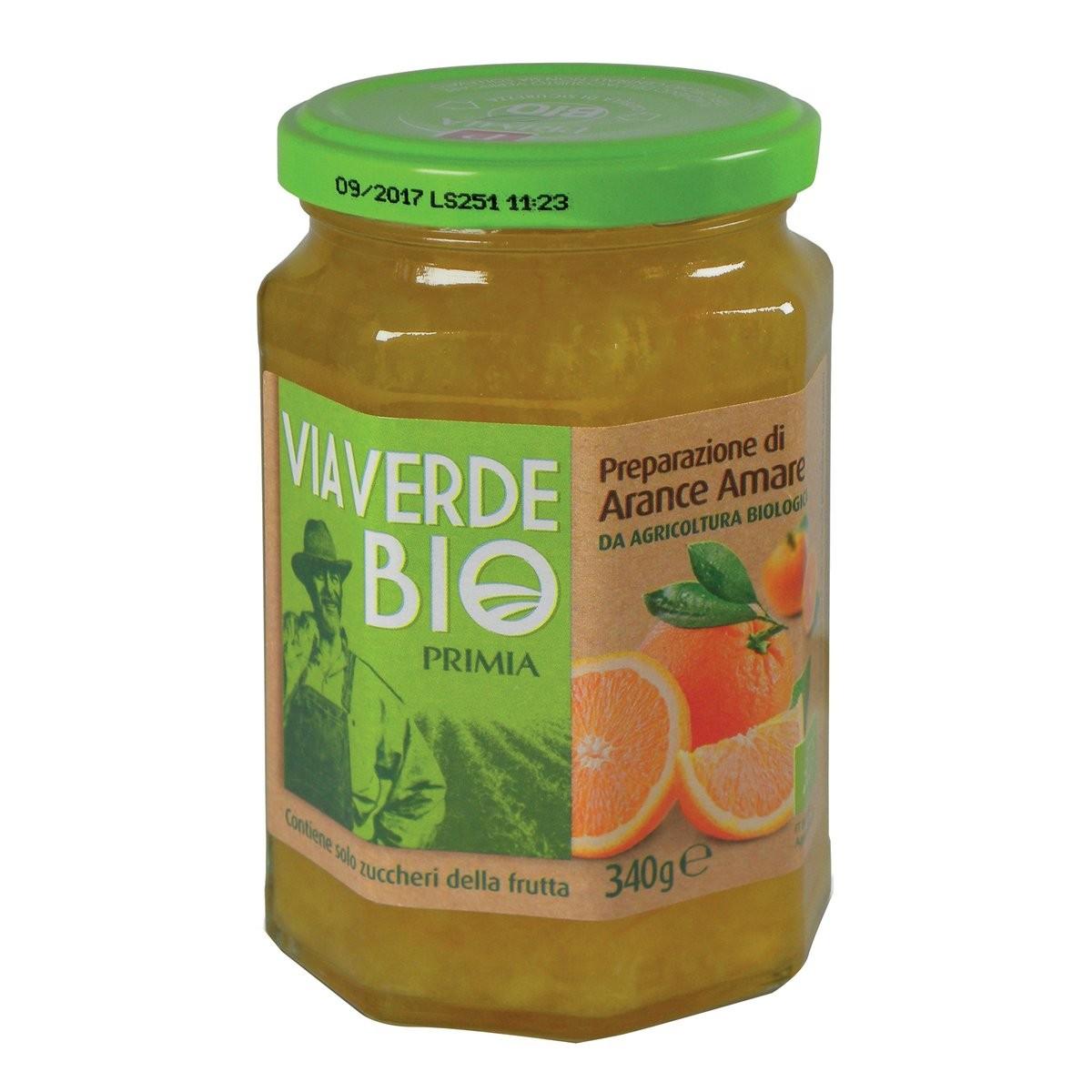 Confettura di arance amare Via Verde Bio