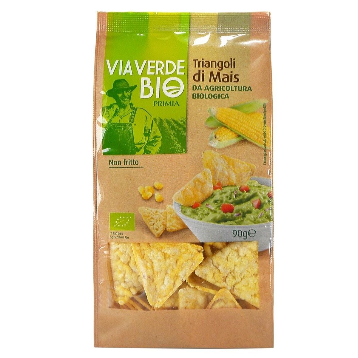 Triangoli di mais Via Verde Bio