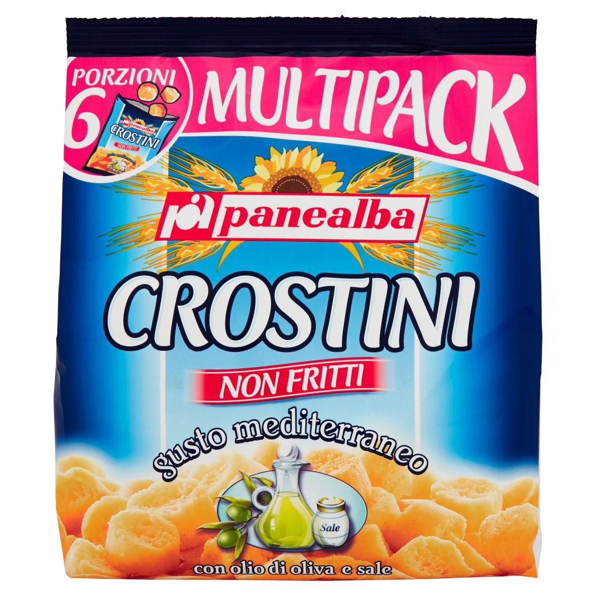 Crostini gusto Mediterraneo