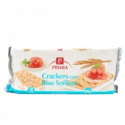 Crackers con riso soffiato