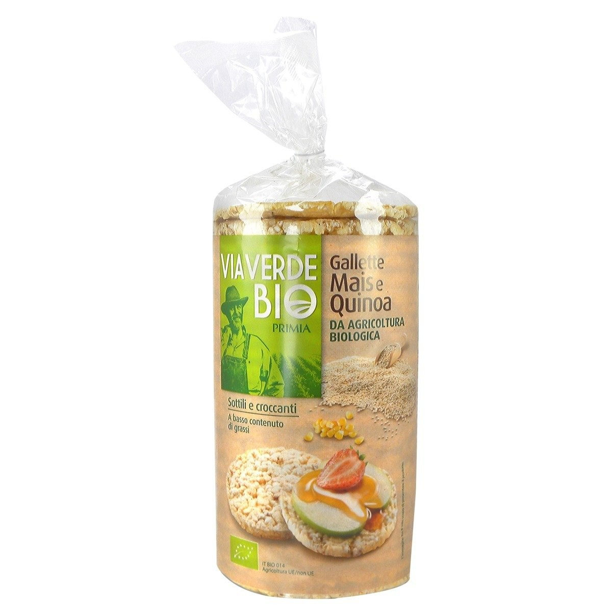 Gallette Mais e Quinoa Via Verde Bio