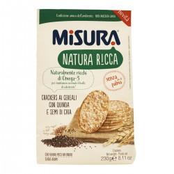 Crackers ai cereali Natura Ricca