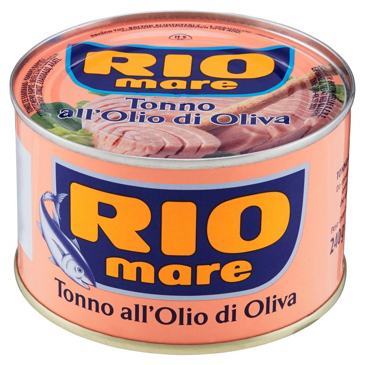 Tonno all'olio di oliva
