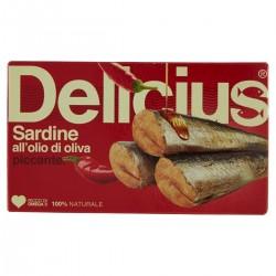 Filetti di sardina piccanti