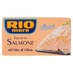 Filetto di salmone all'olio di oliva