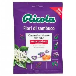 Caramelle svizzere alle erbe Fiori di Sambuco