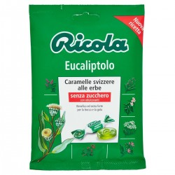 Caramelle svizzere alle erbe Eucaliptolo