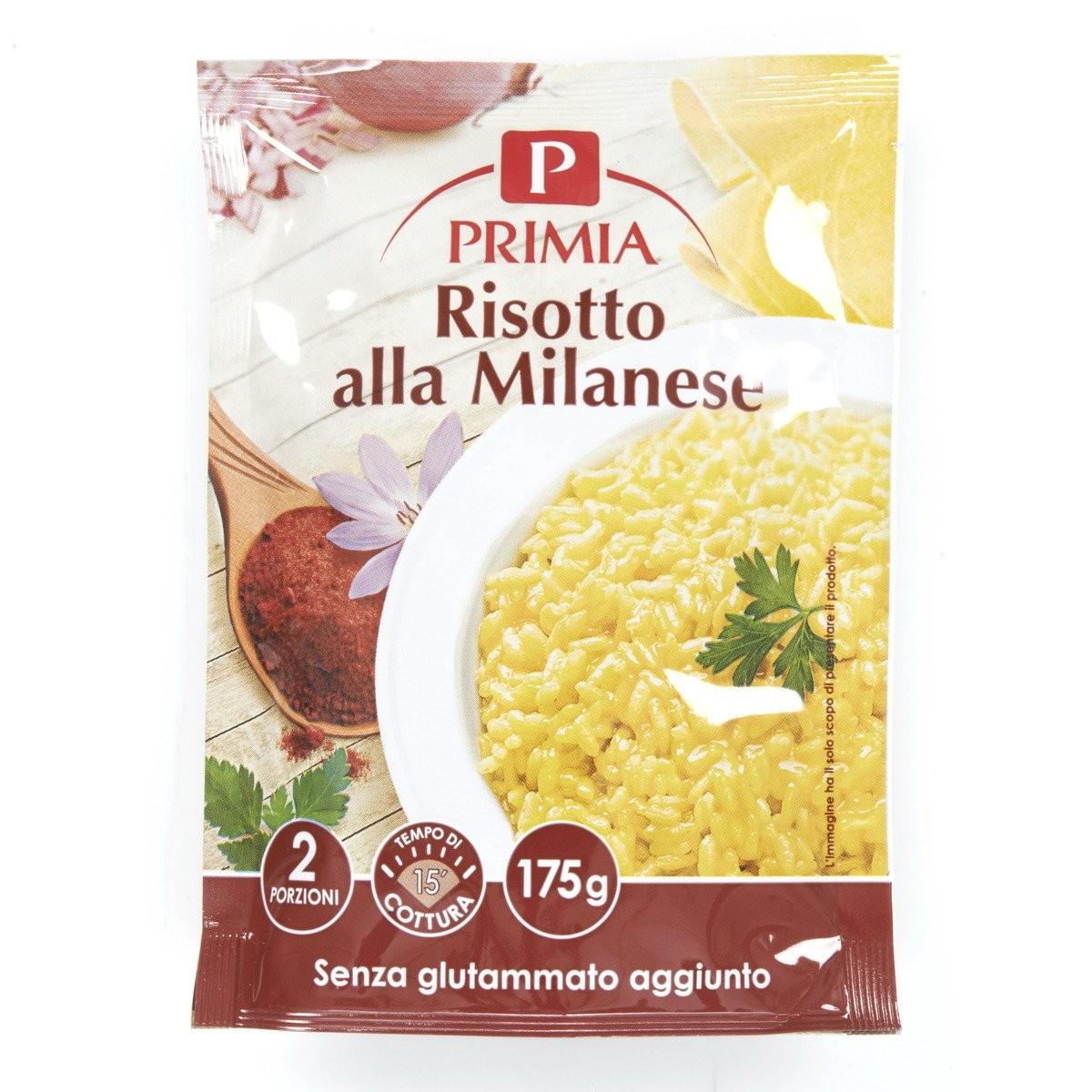 Primia Risotto alla Milanese