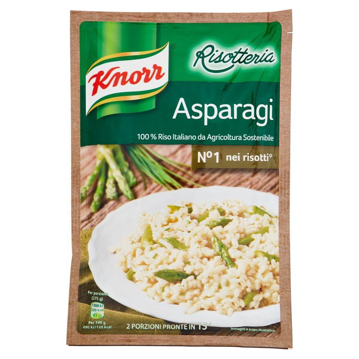 Knorr Risotto agli asparagi Risotteria