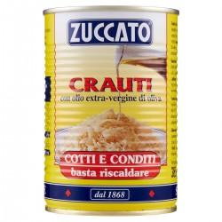 Zuccato Crauti con olio extravergine di oliva