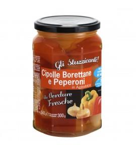 Gli Stuzzicanti Cipolle Borettane e peperoni in agrodolce