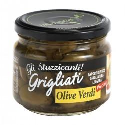 Gli Stuzzicanti Olive verdi grigliate piccanti