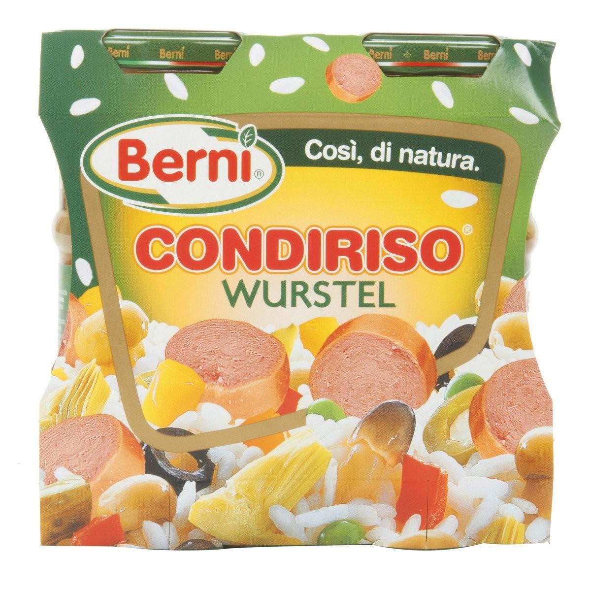 Berni Condiriso con Wurstel