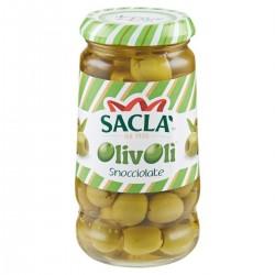 Saclà Olive verdi snocciolate in salamoia Olivolì