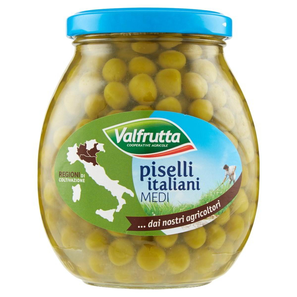 Valfrutta Piselli italiani medi