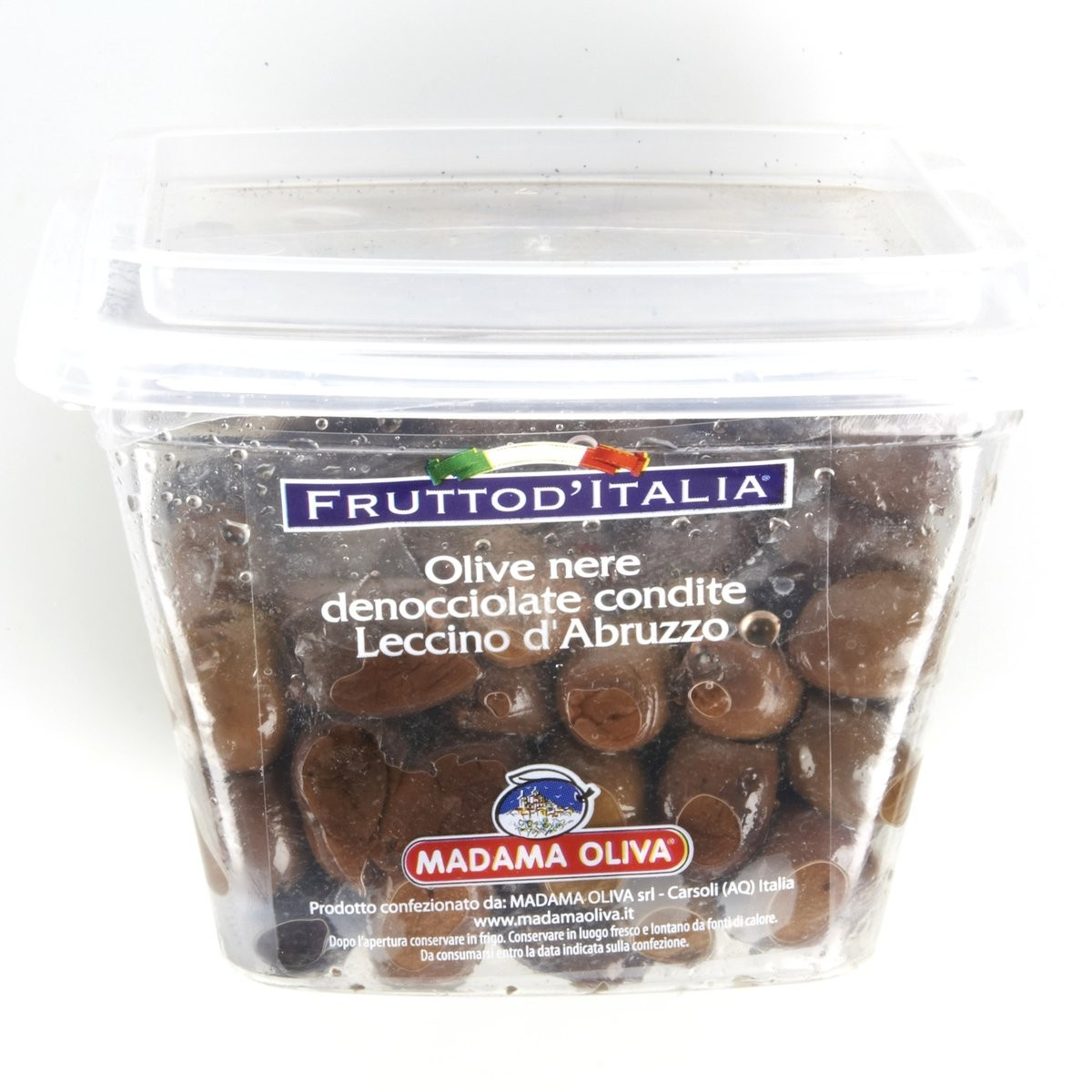 Madama Oliva Olive nere denocciolate condite