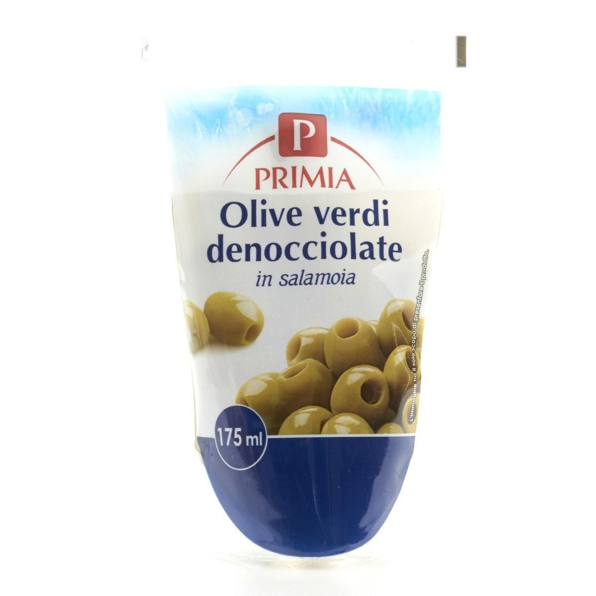 Primia Olive verdi denocciolate in salamoia
