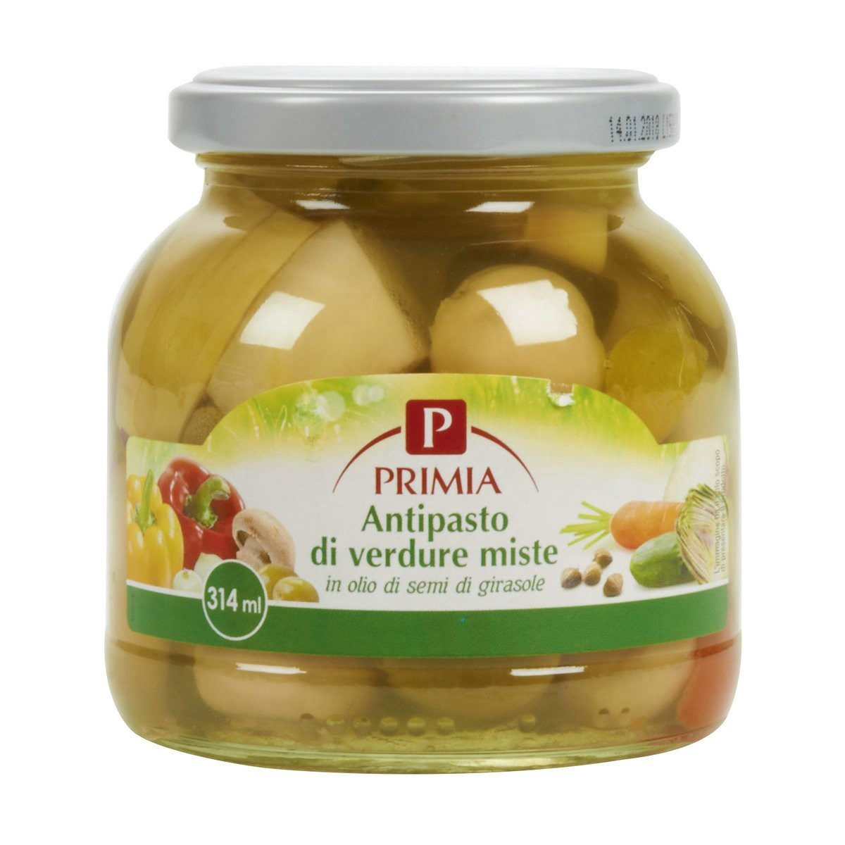 Primia Antipasto di verdure miste