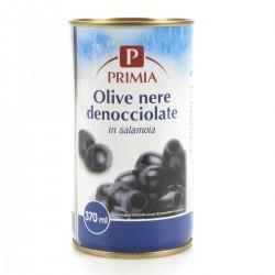 Primia Olive nere denocciolate in salamoia
