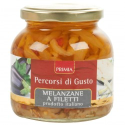 Primia Melanzane a filetti Percorsi di Gusto