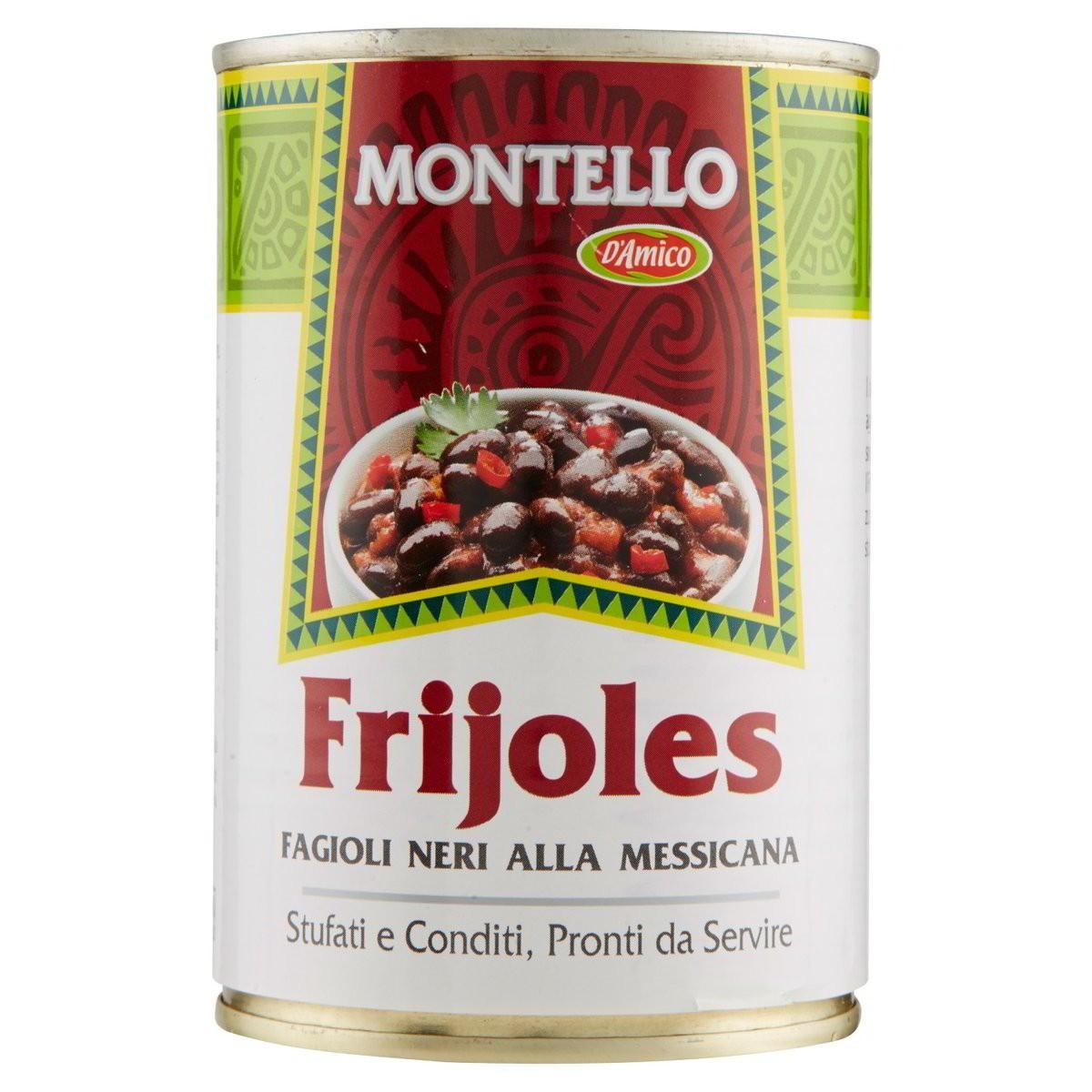 Montello Fagioli neri alla messicana Frijoles