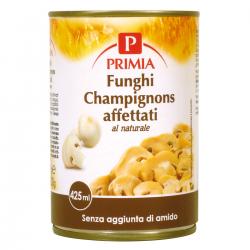 Primia Funghi Champignons affettati al naturale