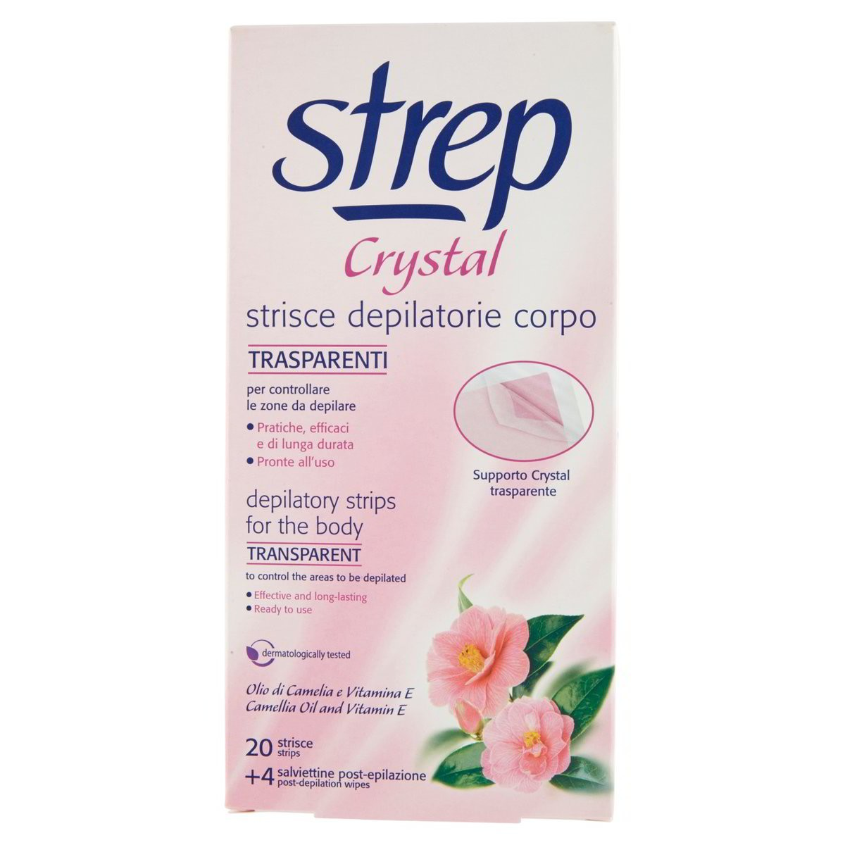 Strep Strisce depilatorie Crystal