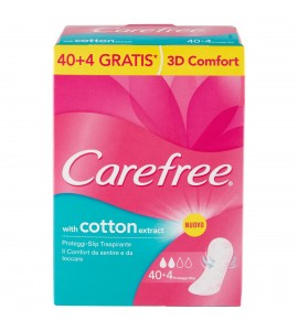 Carefree Proteggi slip traspirante Cotton Extract