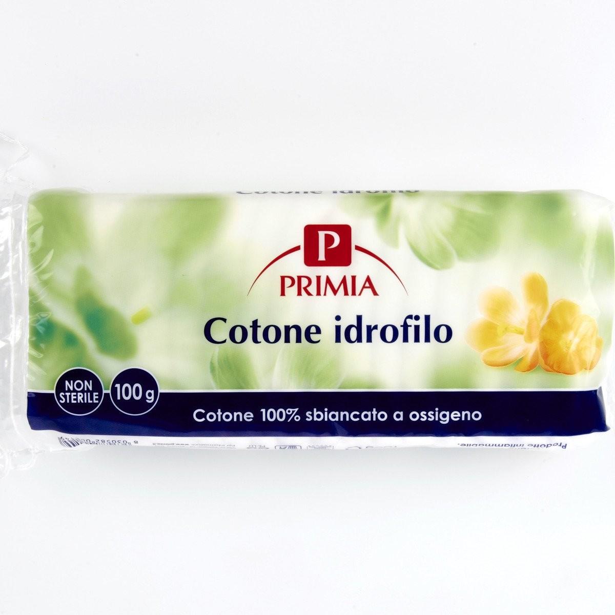 Primia Cotone idrofilo sbiancato a ossigeno
