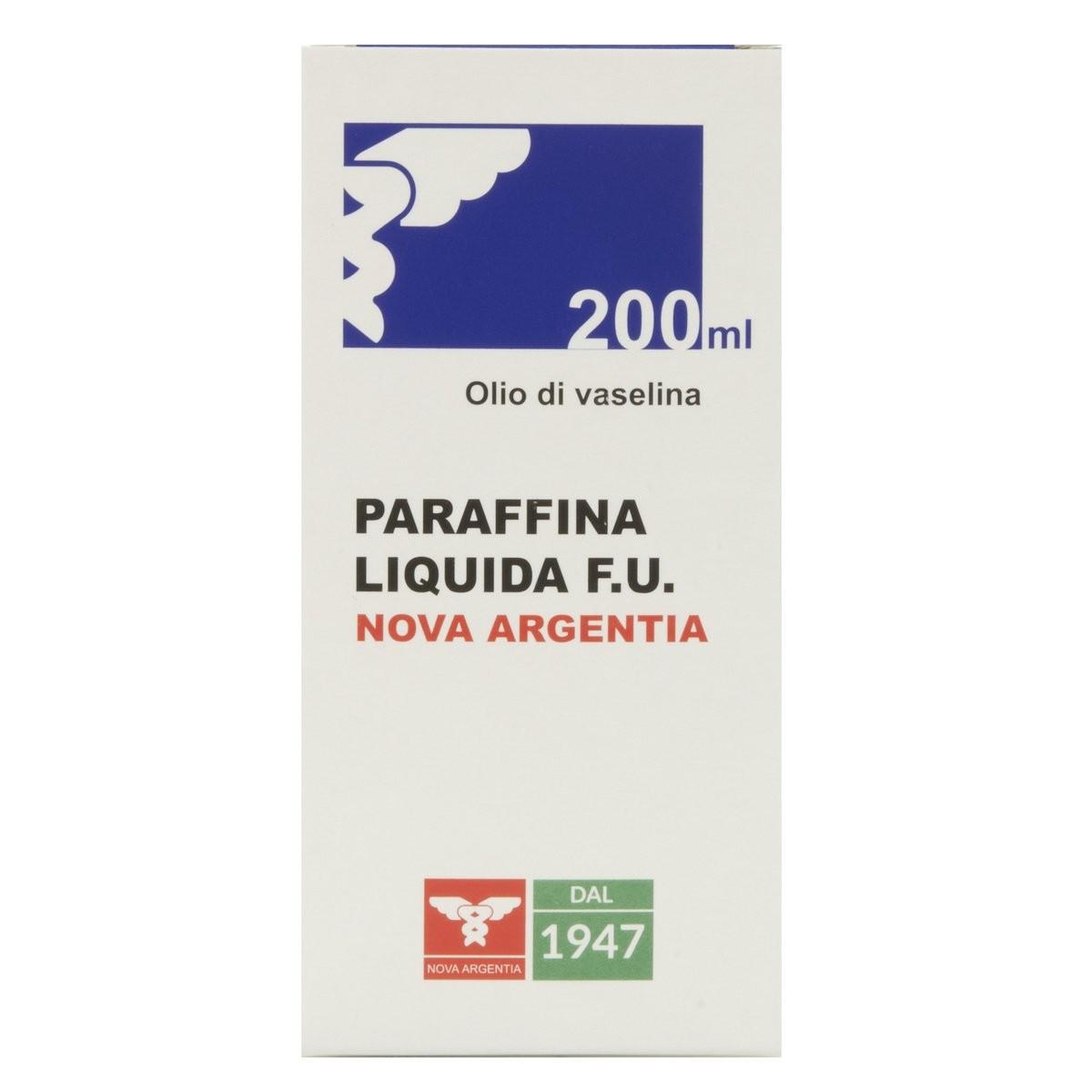 Nova Argentia Paraffina Liquida Olio di Vaselina