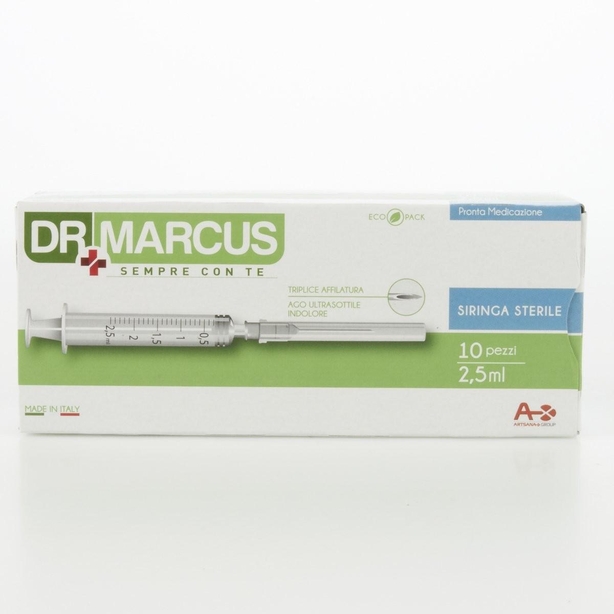 Dr Marcus Siringa sterile
