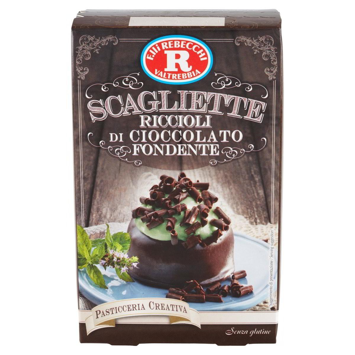 Rebecchi Scagliette di cioccolato fondente