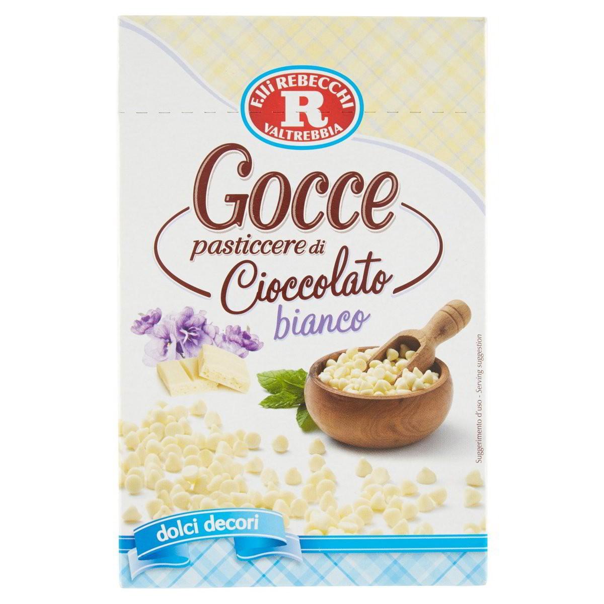 Rebecchi Gocce pasticcere
