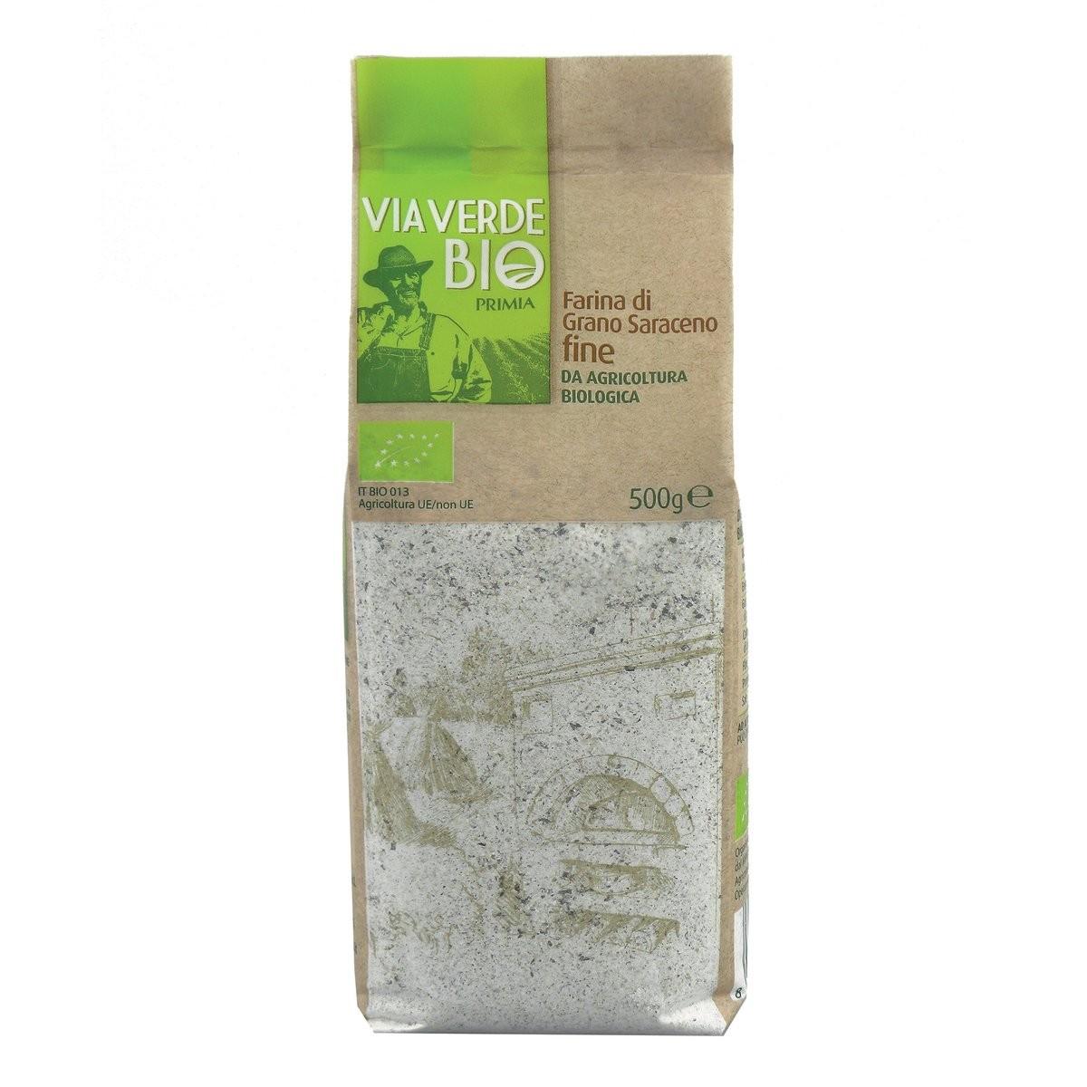 Primia Farina di grano saraceno Via Verde Bio