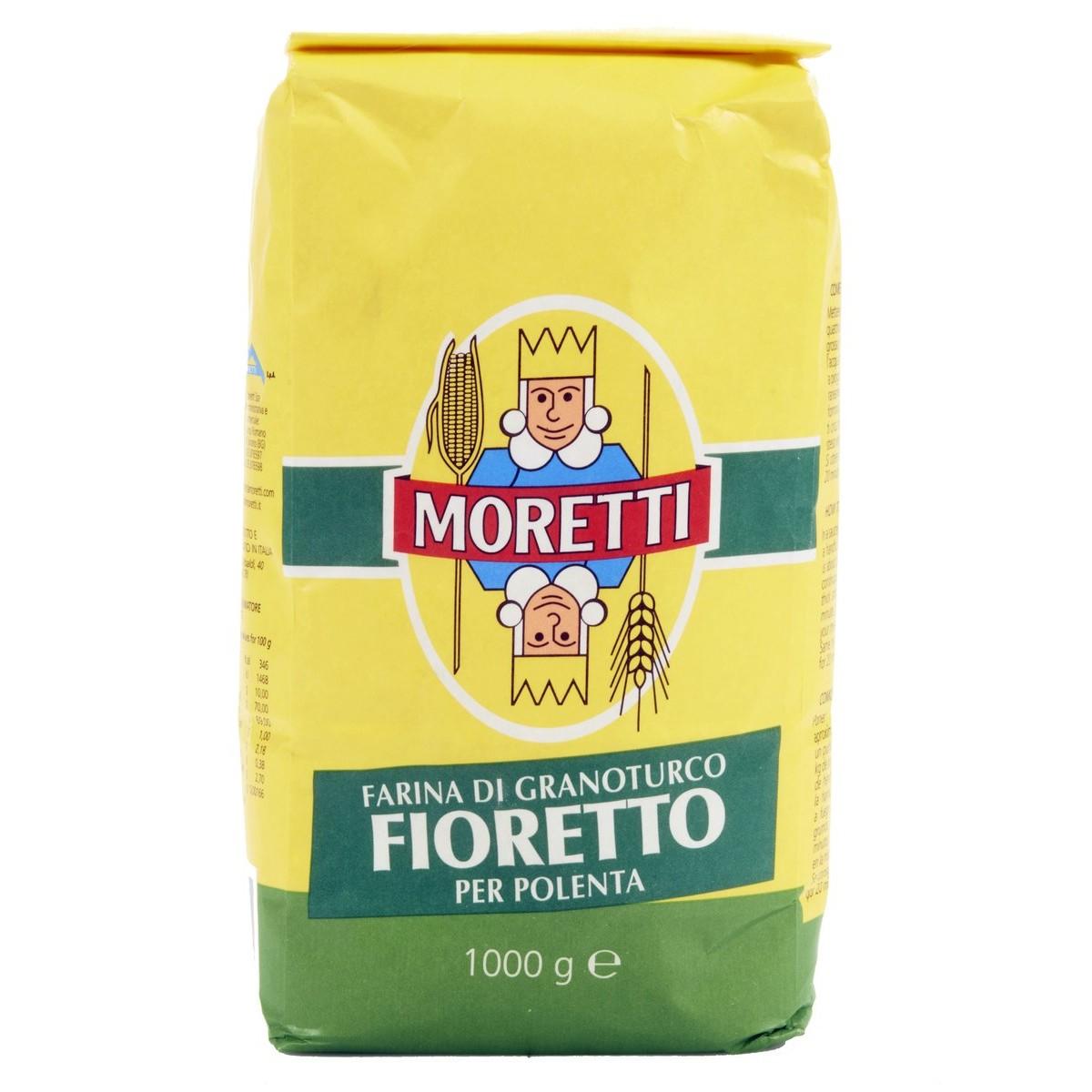 Moretti Farina di granoturco Fioretto per polenta